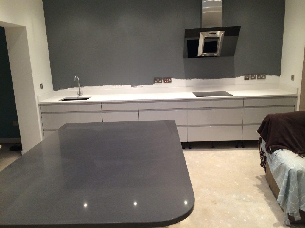 Granite worktops and units