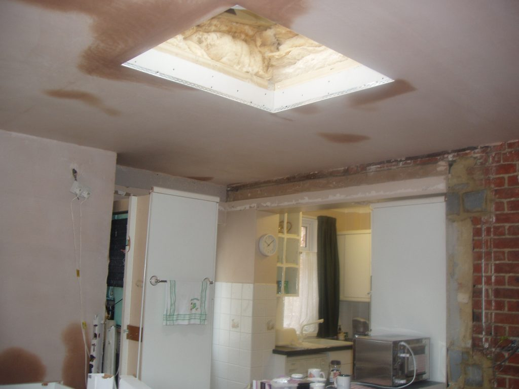 Roof light for kitchen